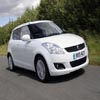 Puzzles White Suzuki Swift